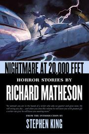 NIGHTMARE AT 20,000 FEET by Richard Matheson