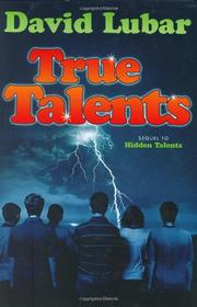 Book Cover for TRUE TALENTS