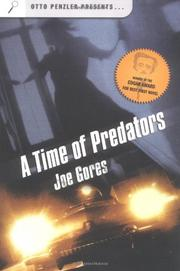 A TIME OF PREDATORS by Joseph N. Gores
