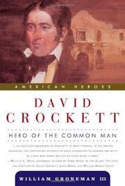 DAVID CROCKETT by III Groneman