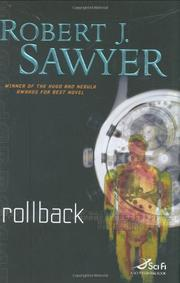 ROLLBACK by Robert J. Sawyer
