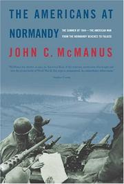 Cover art for THE AMERICANS AT NORMANDY