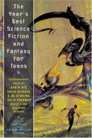 Cover art for THE YEAR'S BEST SCIENCE FICTION AND FANTASY FOR TEENS