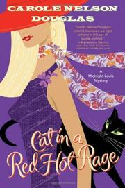 Cover art for CAT IN A RED HOT RAGE