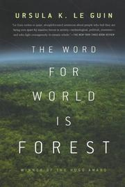 Cover art for THE WORD FOR WORLD IS FOREST