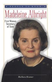 MADELEINE ALBRIGHT by Barbara Kramer