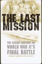 Cover art for THE LAST MISSION