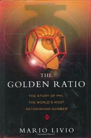Cover art for THE GOLDEN RATIO