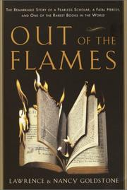 Book Cover for OUT OF THE FLAMES
