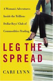 LEG THE SPREAD by Cari Lynn