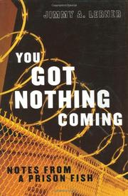 Book Cover for YOU GOT NOTHING COMING
