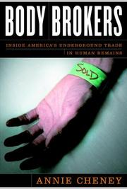 Book Cover for BODY BROKERS
