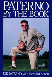 PATERNO: By the Book by Joe with Bernard Asbell Paterno