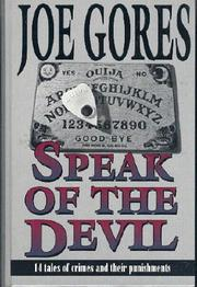 SPEAK OF THE DEVIL by Joe Gores