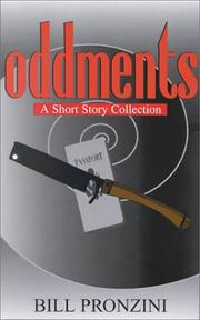 ODDMENTS by Bill Pronzini