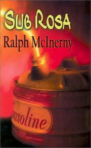 SUB ROSA by Ralph McInerny