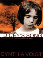 Cover art for DICEY'S SONG