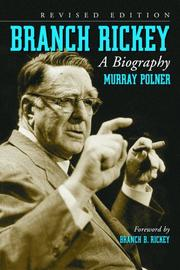 BRANCH RICKEY: A Biography by Murray Polner