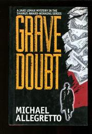 GRAVE DOUBT by Michael Allegretto
