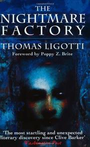 THE NIGHTMARE FACTORY by Thomas Ligotti