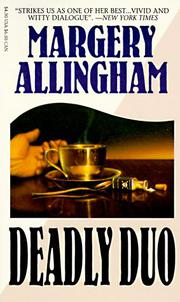 DEADLY DUO by Margery Allingham