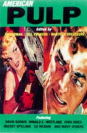 Cover art for AMERICAN PULP