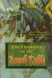 Cover art for THE CHRONICLES OF THE ROUND TABLE