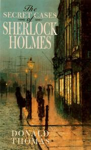 Cover art for THE SECRET CASES OF SHERLOCK HOLMES