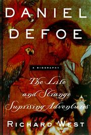 Cover art for DANIEL DEFOE
