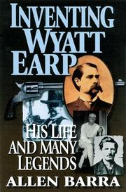 Cover art for INVENTING WYATT EARP