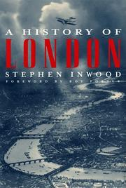 Book Cover for A HISTORY OF LONDON