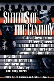 SLEUTHS OF THE CENTURY by Ed Gorman