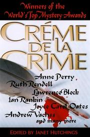 CREME DE LA CRIME by Janet Hutchings
