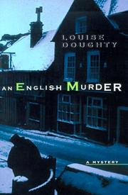 AN ENGLISH MURDER by Louise Doughty