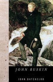 JOHN RUSKIN by John Batchelor