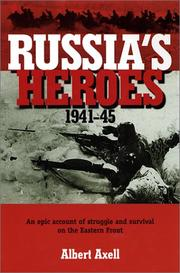 Cover art for RUSSIA'S HEROES