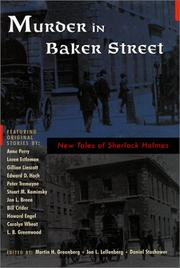 MURDER IN BAKER STREET by Martin H. Greenberg
