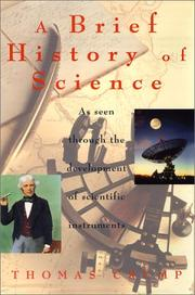 Book Cover for A BRIEF HISTORY OF SCIENCE