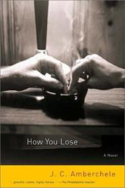 HOW YOU LOSE by J.C. Amberchele