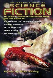 Cover art for THE MAMMOTH BOOK OF SCIENCE FICTION