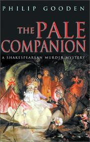 Cover art for THE PALE COMPANION