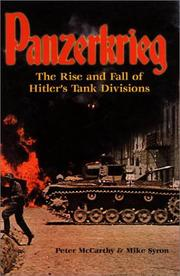 Book Cover for PANZERKREIG