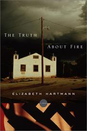 THE TRUTH ABOUT FIRE by Elizabeth Hartmann