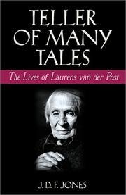 TELLER OF MANY TALES by J.D.F. Jones