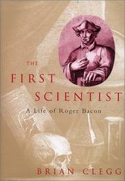 Cover art for THE FIRST SCIENTIST