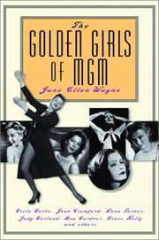Cover art for THE GOLDEN GIRLS OF MGM