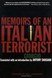 "MEMOIRS OF AN ITALIAN TERRORIST by ""Giorgio"""
