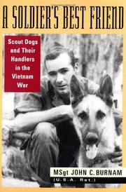 Book Cover for A SOLDIER'S BEST FRIEND