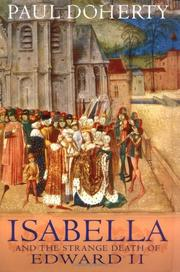 Cover art for ISABELLA AND THE STRANGE DEATH OF EDWARD II