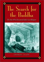 Book Cover for THE SEARCH FOR THE BUDDHA